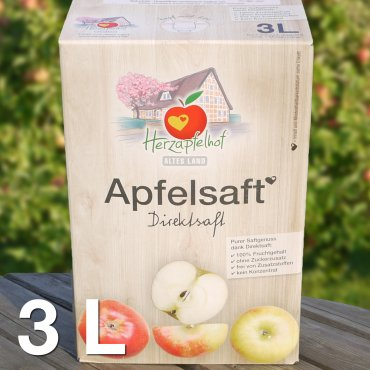 Apfelsaft naturtrüb 3l Bag in Box