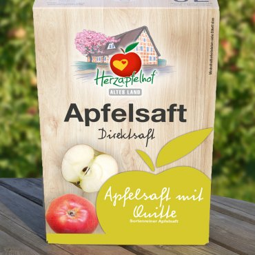 Apfelsaft mit Quitte  - Bag in Box - 5 Liter