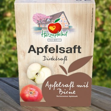 Apfel mit Birne naturtr. 5 l Bag in Box