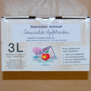 Demeter-Apfelsaft 3l Bag in Box
