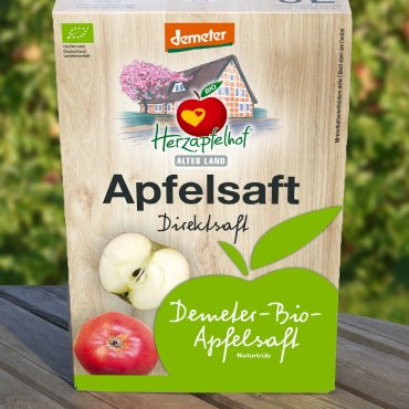 Demeter-Apfelsaft 5l Bag in Box