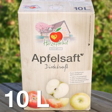 Demeter-Apfelsaft 10l Bag in Box