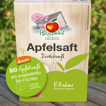 Demeter-Elstar-Apfelsaft 5l Bag in Box