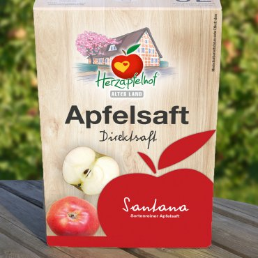 Santana Apfelsaft Bag in Box - 5 Liter