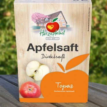 Topaz Apfelsaft Bag in Box - 5 Liter