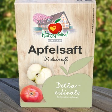 Apfelsaft Delbarestivale - der Milde Bag in Box - 5 Liter