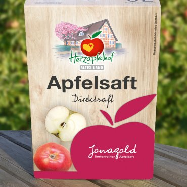 Jonagold Apfelsaft 5l Bag in Box Jonagold
