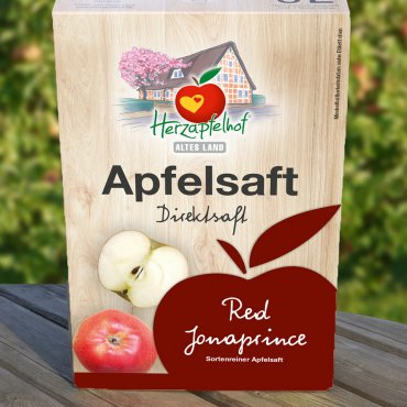 Red Jonaprince Apfelsaft 5l Bag in Box Red Jonaprince