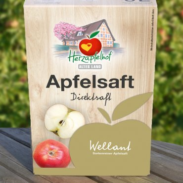 Wellant Apfelsaft 5l Bag in Box Wellant